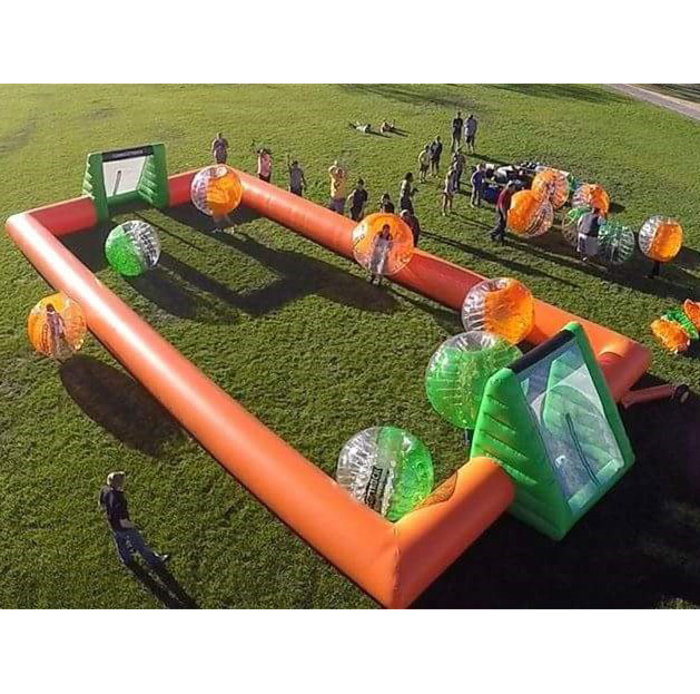 Portable inflatable Soccer bubble bumper ball Field/Inflatable Football Pitch/Inflatable Football Arena Court