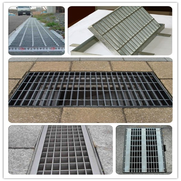 galvanised water drainage , trench drain grate (factory, customized)