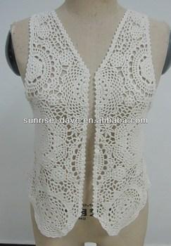 Free Cotton Crochet Vest Pattern Design - Buy Free Vest ...