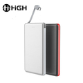 Ultra-thin wallet 3d power bank leather 2 usb port fan for 2018 power bank