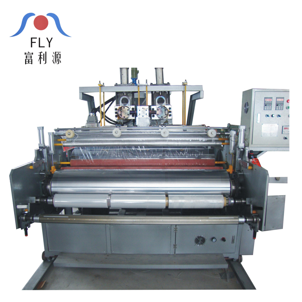 FLY-500 Een Laag Stretch Film Extruder Machine PE Stretch/Wrapping Film Making Machine