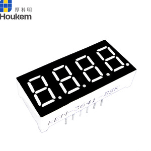 Common Cathode 0.36 inch 4 Digit 7 segment LED display screen size 30*14mm