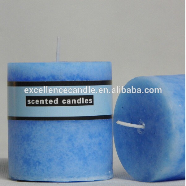 bulk multi-colored luxury home decor scented candles