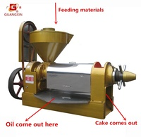oil mill pressing machine for grinding oil flaxseed/rapeseed /sunflower