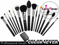 15 pcs Original luxury makeup tools makeup factory design 15pcs private label professional makeup brush set