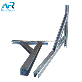 China Manufacturer heavy duty Triangle stainless steel C channel brackets