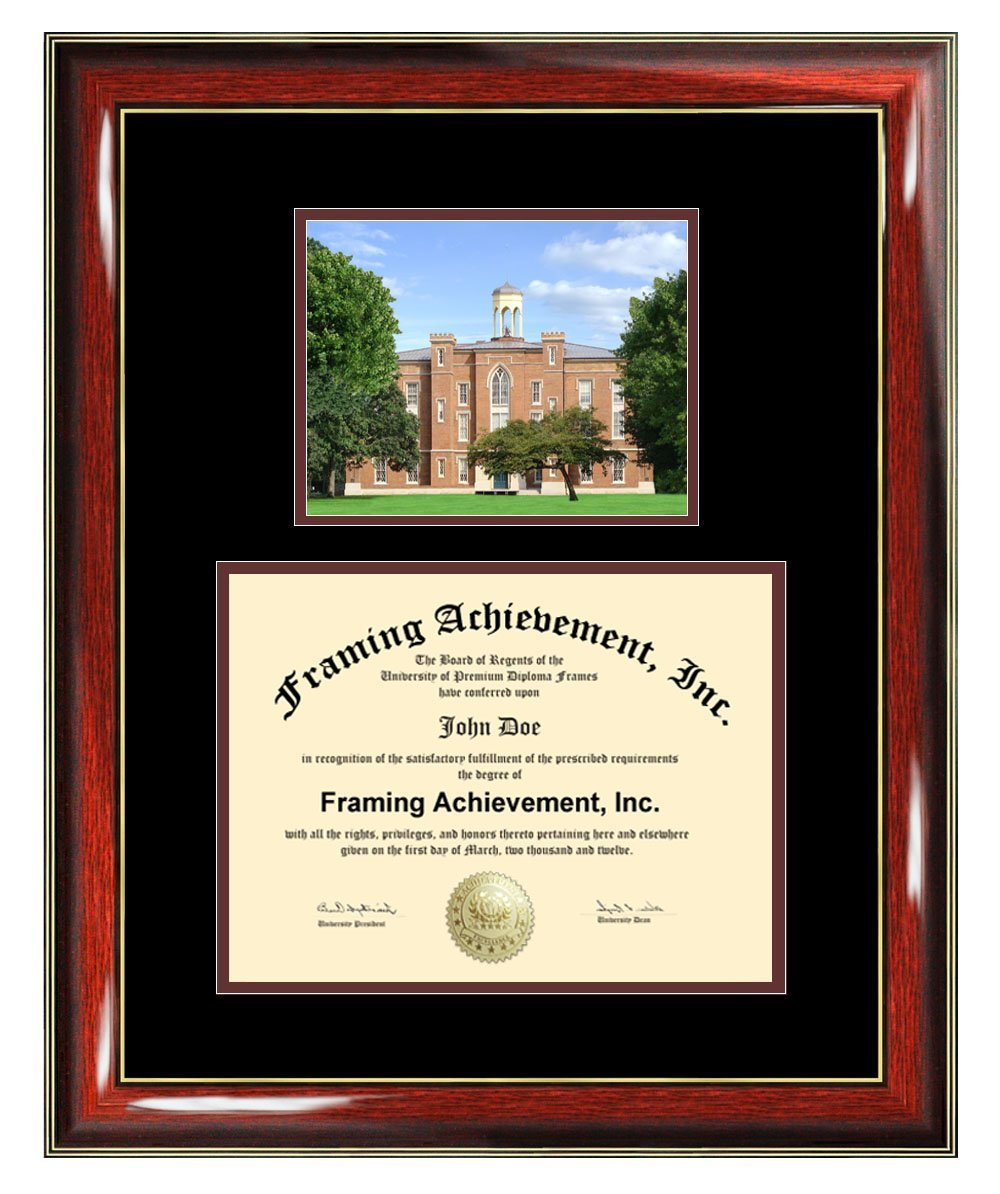 Knox College Diploma Frame Graduation Degree Frame Matted Certificate Plaque University Framing Plaque Graduate Gift