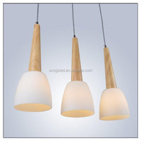 wooden light fitting/wooden ceiling lights / wooden pendant light modern