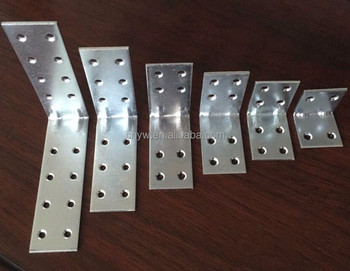 Metal Corner Brace Furniture Brackets For Wood Connector