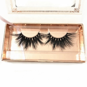 Natural looking 100% real wholesale mink eyelash extension slim curly siberian private label eyelashes 005