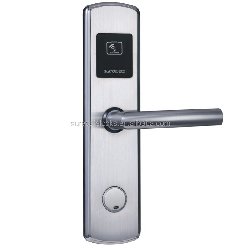 Modern design electronic safe RFID card Hune hotel lock