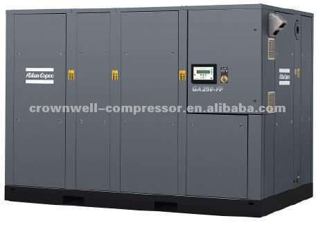Atlas Copco / G 110-250: Oil Rotary Screw Compressor, 110-250 KW/150-370 Hp