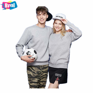 Pullovers Mens Womens Crewneck Sweatshirts Wholesale 100% Cotton Soft Fleece Sweaters Custom Logo