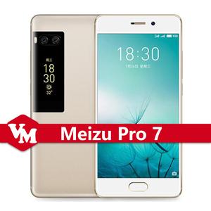 Original Meizu Pro 7 Pro7 4GB 128GB Mobile Phone 5 2 Inch FHD Screen Helio  X30 Deca Core mTouch 3 0 ID Fast Charge Smartphone