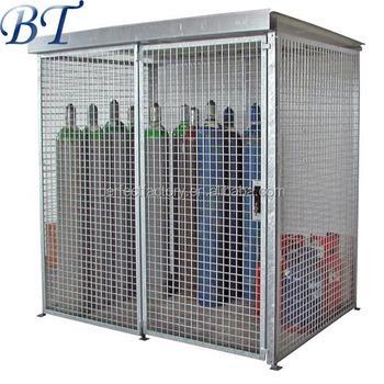 Charmant Folding Steel Stackable Storage Cage/gas Bottle Storage Cage (manufacturer)