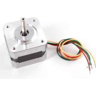 NEMA17 0.9 degree 2 phase Hybrid stepper motor for 3D printer with CE &ROHS