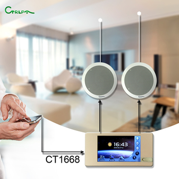 CT1668 Wifi Bluetooth MP3 Home Smart Music Player Background Sound System  For House Store