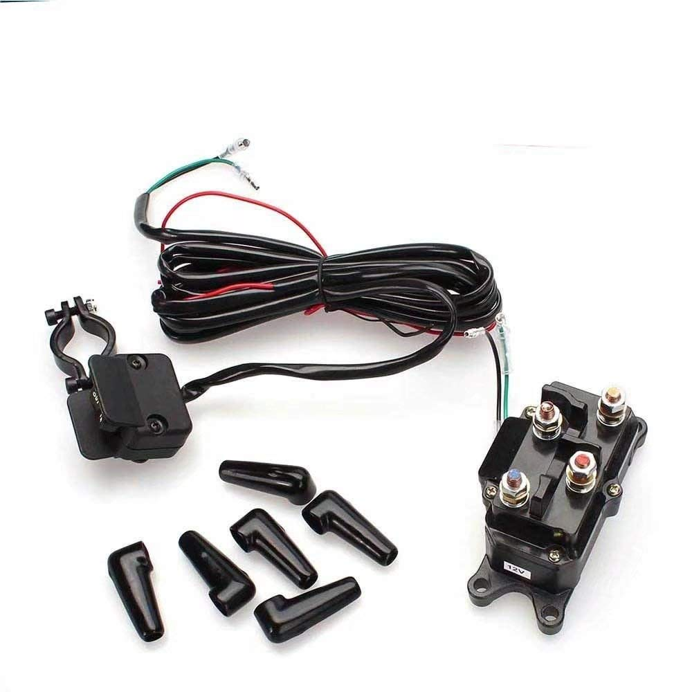 Cheap Solenoid Switch For Winch Find Relay Lifetime Get Quotations Jahyshow 12v Contactor Rocker Thumb Combo Atv Utv Truck