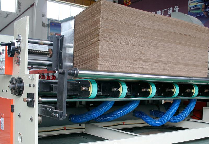 Equipment for the production of packaging machinery