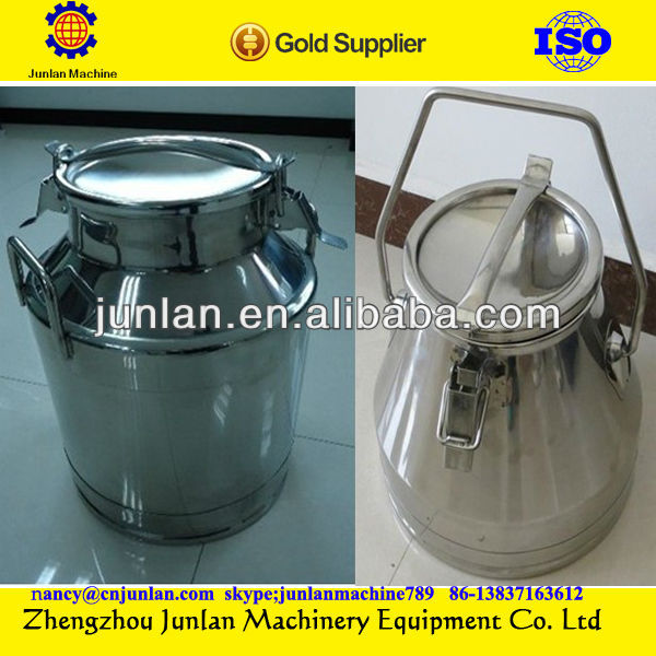 stainless steel milk storage can dairy milk can