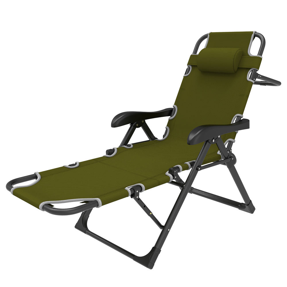 Real Zero Gravity Lawn Camping Chairs Mermaid Armrest Foldable Beach Lounge Chair Sun Lounge Chair