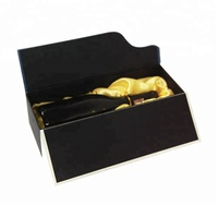 Low Moq custom champagne bottle gift box wine gift box with magnetic lid