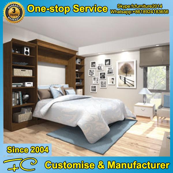 Doble pared moderna cama transformable dormitorio ahorro de espacio ...