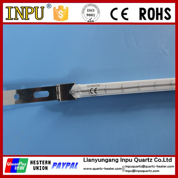 infrared halogen heating lamp for oven/food cooking