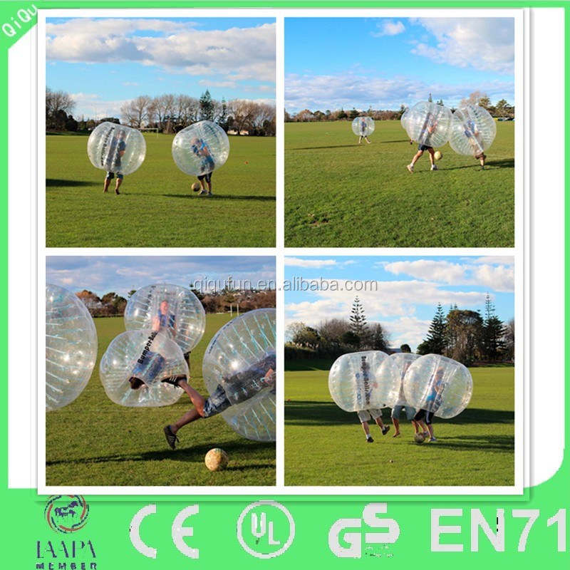Football bubble suit bubble soccer ball for soccer games 2/1.5m adult loopyball/bubble loopy ball