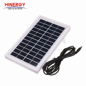 High Efficiency Sunpower Cell 12V 5W Small Solar Panel for Phone Charge use