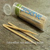 2014 Natural bamboo toothpick box packing bulk bamboo toothpicks safe quality