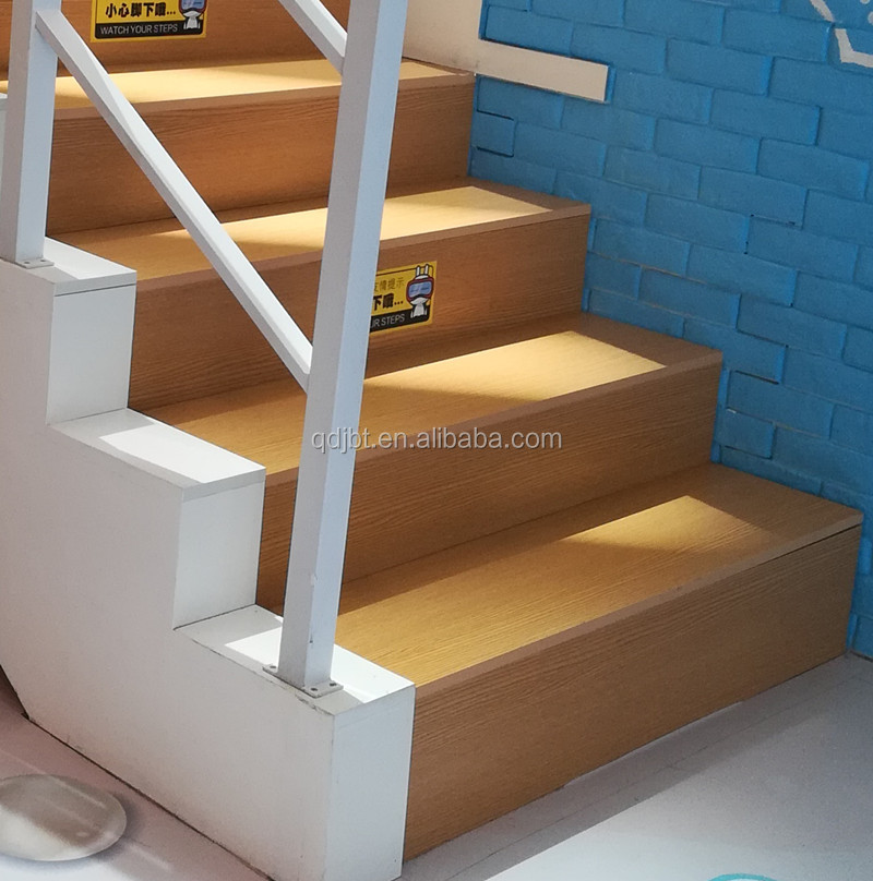 Round Nose Plain Laminate Wood Stair Tread