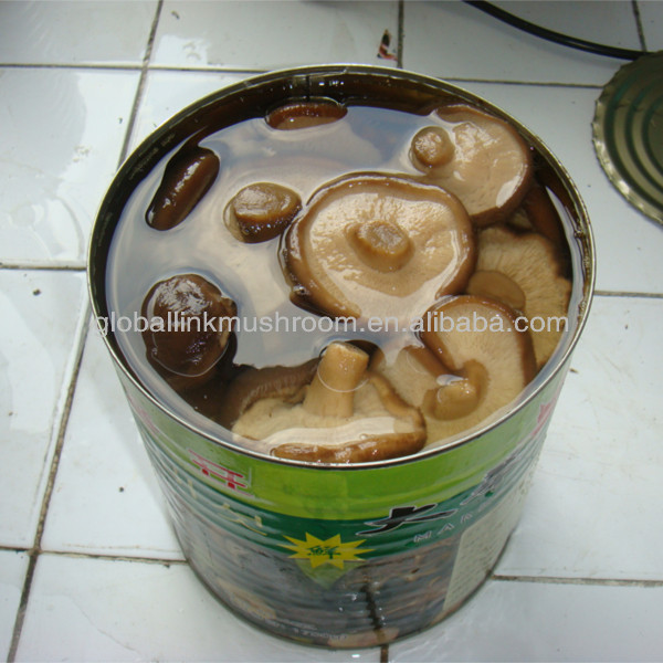 shiitake mushroom in tin 425g whole/ slice