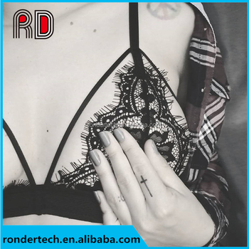 2c1d5f9465c90 Sexy Bra Floral Lace Wire Bra Bustier Sheer Top Seamless Bralette  Transparent Cup Wireless Bras Brassiere