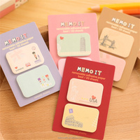 Memo notes motivational expression paste sticky note book