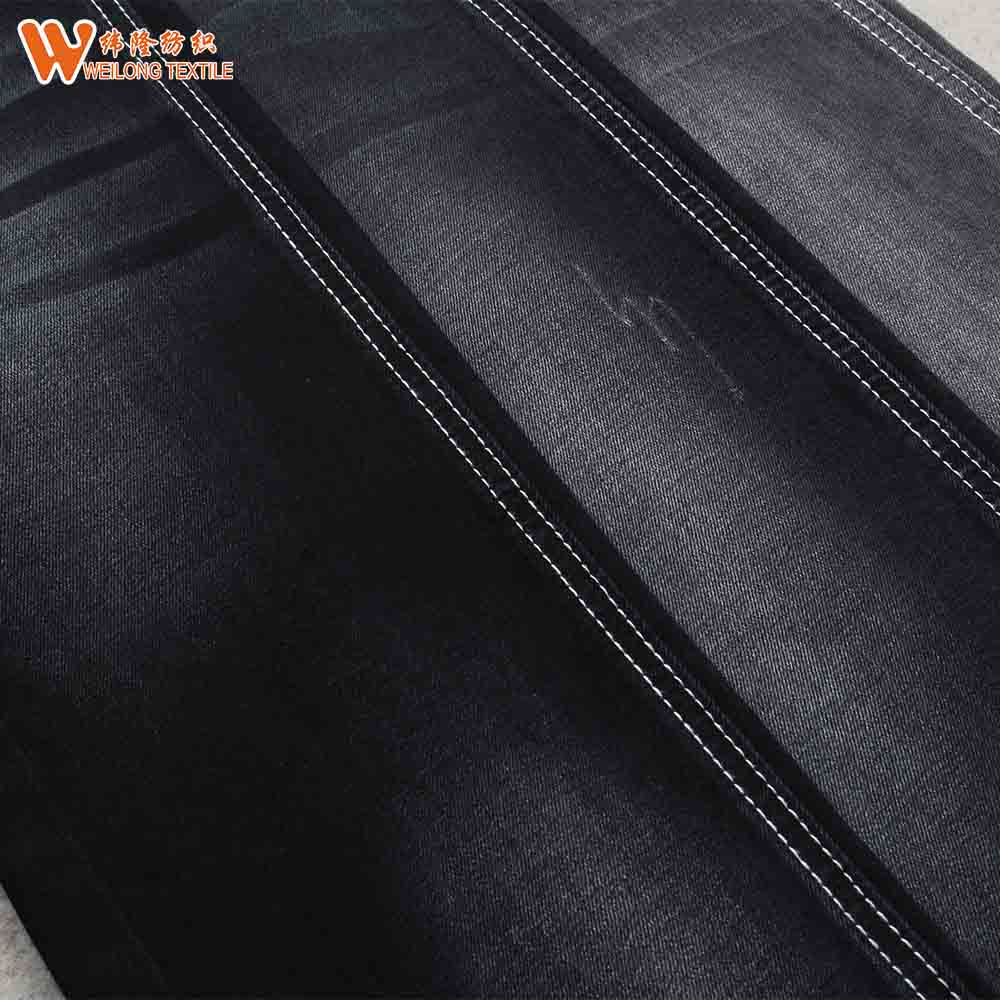 Factory Stock Lot 9.5oz Plain Cotton Denim <strong>Fabric</strong>