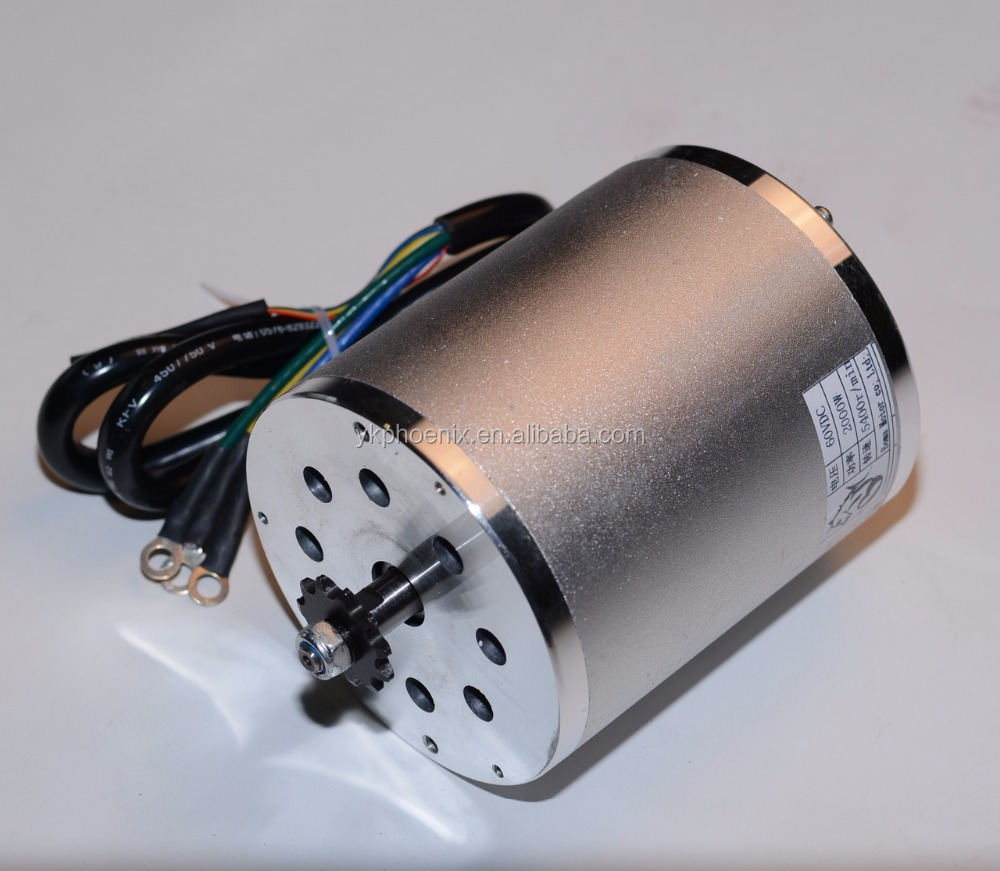 brushless 2000Watt 60V Electric Motor ( Electric Scooter Spare Parts)