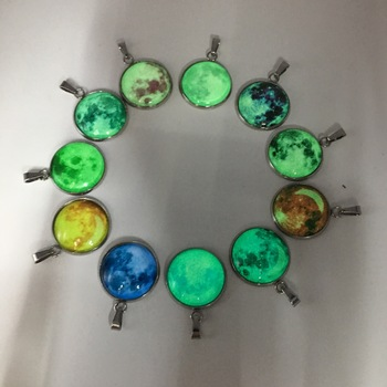 Glow in the Darkness Crystal Bracelet Jewelry Luminous Star Series Planet Bracelets & Bangles Glass Cabochon Bracelets