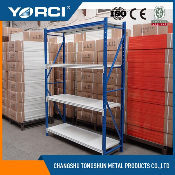 Small Cargo Storage Selective Level Q235 Steel Light Duty
