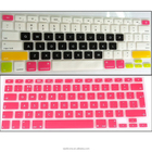 0.3mm Colored Waterproof Rubber Keyboard Cover for Macbook Air 13 inch