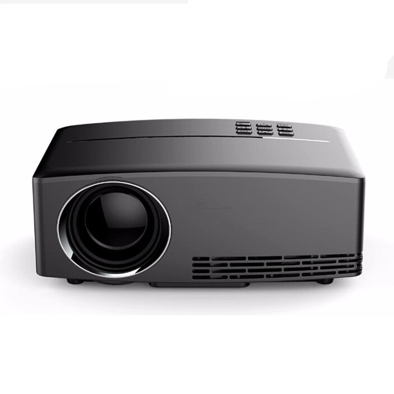 GP80 1800lumens Portable HD home cinema LED Projector HDMI LCD Game PC Digital Mini Projectors 1080P Proyector 3D Beamer