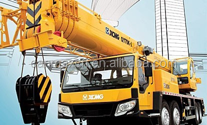 70t QY70K-I mobile crane with 44.5m boom + 15m jib