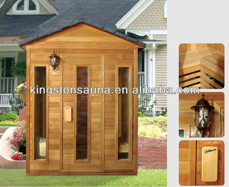 outdoor portable sauna cabin,sauna steam room with sauna accessory