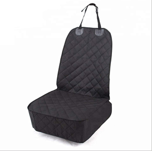 Classic Custom 4 Layers 100% Waterproof Pet / Dog Front Car Seat Cover with Ultrasonic Stitching