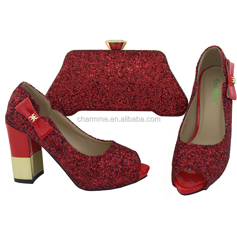 Party good African for bags women shoes red Italian match to bags and shoes and quality W6Ucpwq1Tc