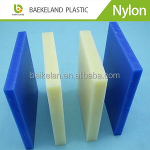 blue colour plastic nylon sheet cutting board mc nylon plate/board