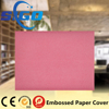 Hot sale high quality 120gsm different colors metal texture leather embossed paper