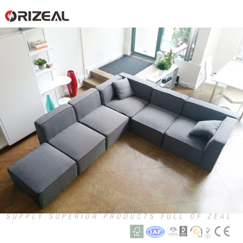 China Modern Design Upholstery Fabric Sofa Factory New Sets Lowest Price