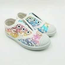 Spring Autumn Children Solid Color Slip-on Casual Shoes Boys Loafers Kids Canvas Shoes Soft Breathable Girls Shoes