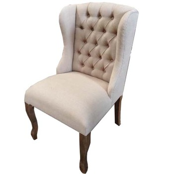 French Linen Dining Chair By Moodlinesindo Jepara Furniture ( Only For  Serious Buyer )